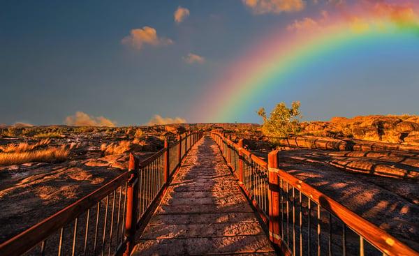 Weg zum Regenbogen